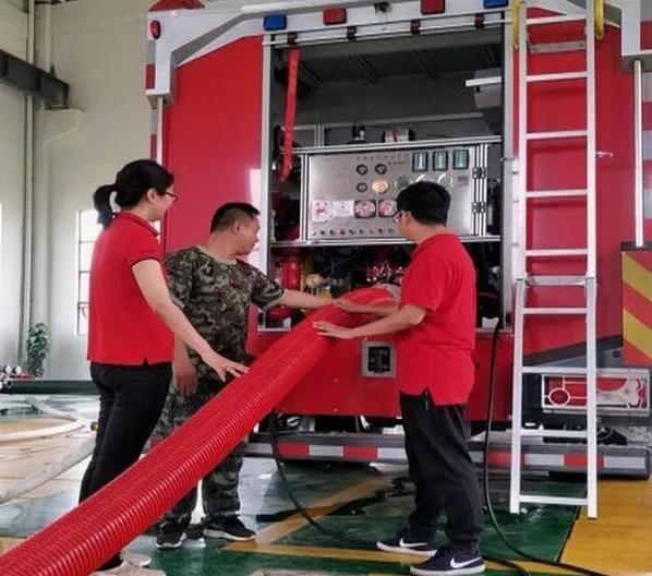 tpu新型消防车吸水管